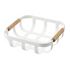 Koszyk na chleb/owoce Tosca mały biały