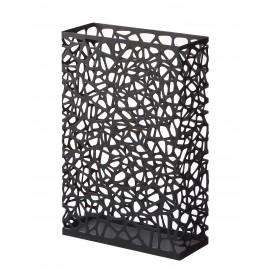 Stojak na parasole Nest prostokątny czarny