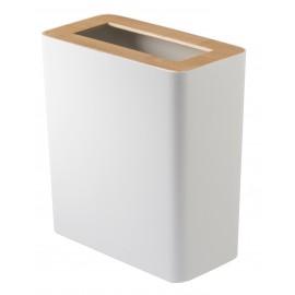Kosz na śmieci RIN kwadrat biały