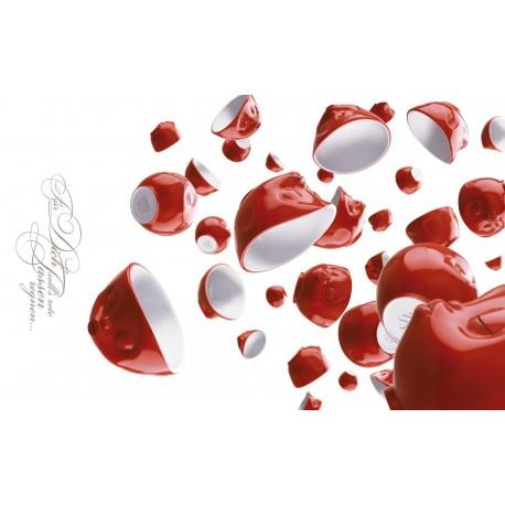 Deseczka do krojenia Led Red Cups Rain 23 x 14 cm