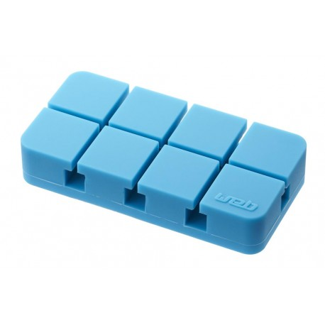 Uchwyt na kable komputerowe niebieski
