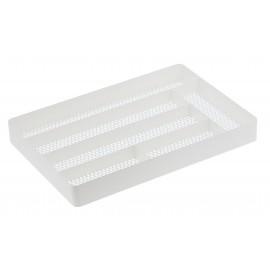 Wkład do szuflady na sztućce biały
