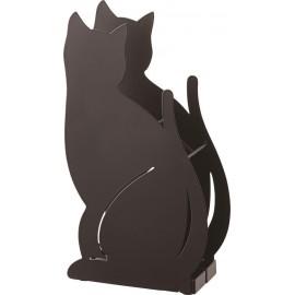 Stojak na parasole CAT czarny