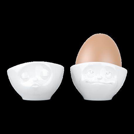Kieliszki do jajek Buźki kpl 2 szt