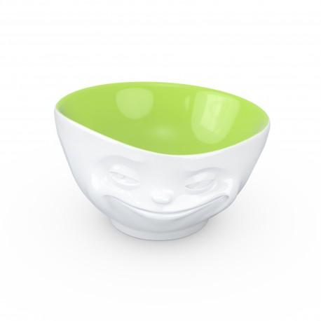 Miseczka Uśmiechnięta Buźka zielona