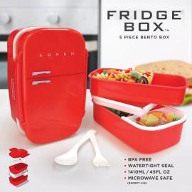 Pojemnik na lunch Fridge Box czerwony