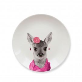 Talerz ceramiczny obiad. Baby DEER mały